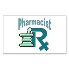 Pharmacist Mart Rectangle Decal
