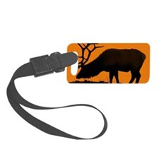 An Elk Evening Luggage Tag