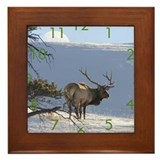 Cute Buck Framed Tile