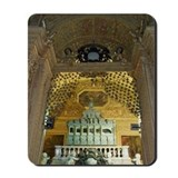 """Tomb in a church, St. Francis Xavier Chu Mousepad"