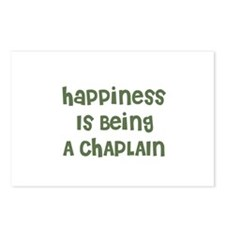 Happiness Is Being A CHAPLAIN Postcards (Package o