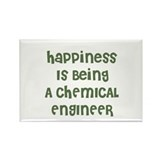 Happiness Is Being A CHEMICAL Rectangle Magnet (10