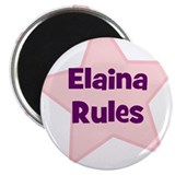 Elaina Rules Magnet