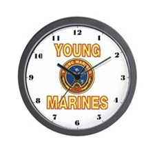 Young Marine Wall Clock