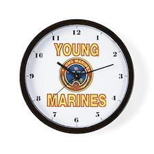 Young Marine Wall Clock