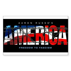 America-B Rectangle Sticker