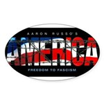 America-B Oval Sticker