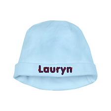 Lauryn Red Caps baby hat