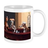 Italian Greyhound Nighthounds Small Mug