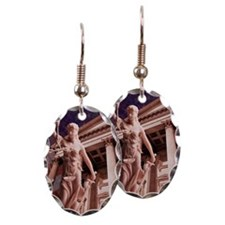 Blind Justice in America Earring