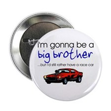"Gonna be big brother (race car) 2.25"" Button (10 p"