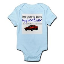 Gonna be big brother (race car) Infant Bodysuit