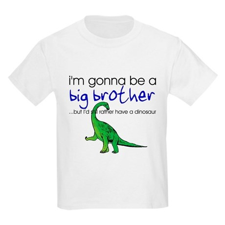 Gonna be big brother (dinosaur) Kids T-Shirt