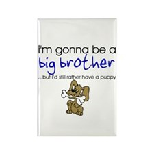 Gonna be big brother (puppy) Rectangle Magnet (100