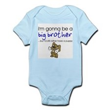 Gonna be big brother (puppy) Infant Bodysuit