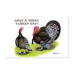 Turkey Day Mini Poster Print