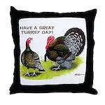 Turkey Day Throw Pillow