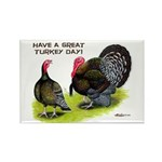 Turkey Day Rectangle Magnet