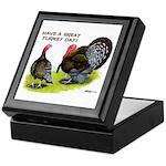 Turkey Day Keepsake Box
