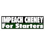Impeach Cheney (Bumper Sticker)