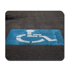 handicap parking Mousepad