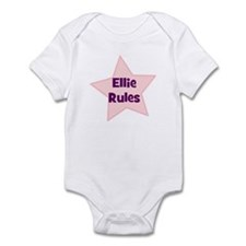 Ellie Rules Infant Bodysuit