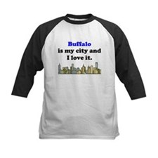 Buffalo Is My City And I Love It Baseball Jersey