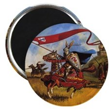 "Unique Knights 2.25"" Magnet (10 pack)"