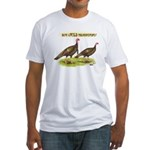 Wild Thanksgiving! Fitted T-Shirt