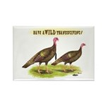 Wild Thanksgiving! Rectangle Magnet (10 pack)