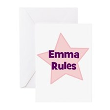 Emma Rules Greeting Cards (Pk of 10)