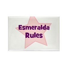 Esmeralda Rules Rectangle Magnet (10 pack)