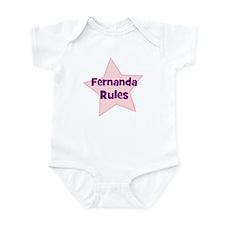 Fernanda Rules Infant Bodysuit