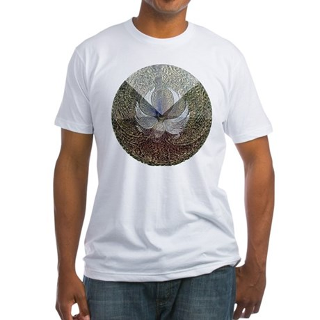 Guardian Angel Fitted T-Shirt