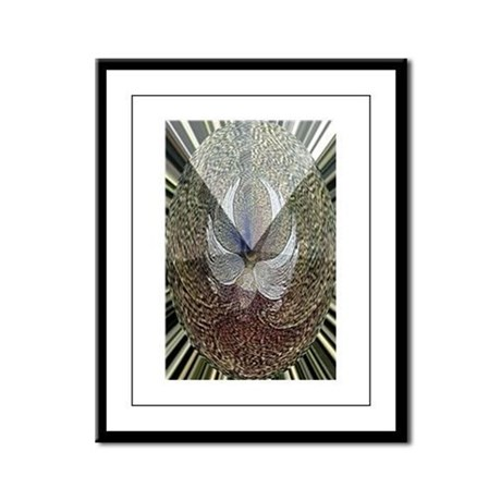 Guardian Angel Framed Panel Print