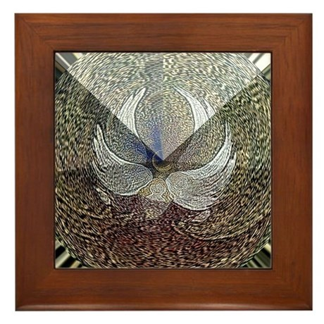 Guardian Angel Framed Tile