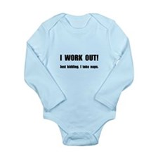 Work Out Naps Body Suit