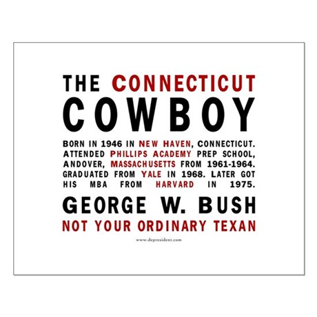 The Connecticut Cowboy Small Poster