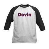 Devin Red Caps Baseball Jersey