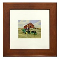 Unique Labradore Framed Tile