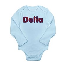 Delia Red Caps Body Suit