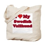 Love My Swedish Vallhund Tote Bag