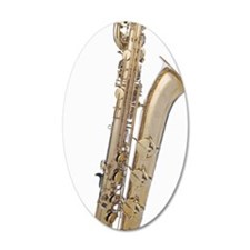 Baritone sax Wall Decal