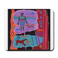 Cute Cave painting Mousepad