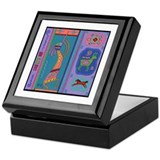 Cute Cave art Keepsake Box