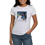 Snowman Unchains Dog Women's T-Shirt