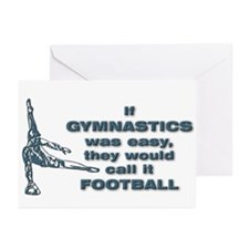 Unique Mens gymnastics Greeting Cards (Pk of 10)