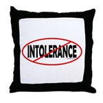 No Intolerance! Throw Pillow
