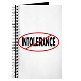 No Intolerance! Journal