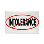 No Intolerance! Rectangle Magnet (100 pack)